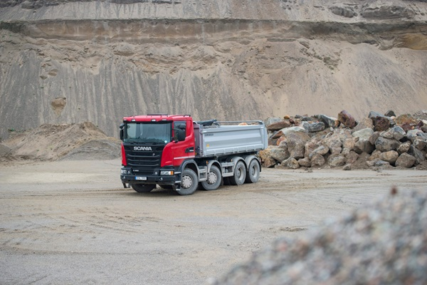Scania-G-450-Tipper